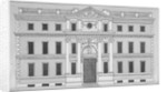 Front elevation of the Drapers' Hall, Throgmorton Street, City of London by Anonymous