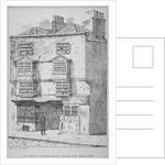 A house in Coleman Street, City of London by Anonymous
