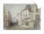 Coleman Street, City of London by Thomas Colman Dibdin