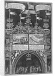 Triumphal arch on Cheapside, City of London by Anonymous