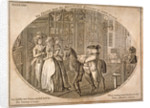 One of six prints from the renowned history of John Gilpin by Anonymous