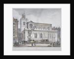Church of St Dunstan in the West, Fleet Street, City of London by W Ganci