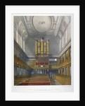 Interior, looking west, Church of St Dunstan in the West, Fleet Street, City of London by W Ganci