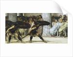 The Pyrrhic Dance by Sir Lawrence Alma-Tadema