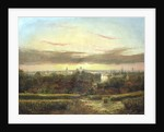 View from above Wandsworth, Westminster and St Paul's in the Distance' c1849-1866 by William James Grant