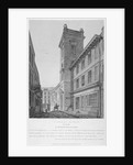 Church of St George Botolph Lane, at the south-east corner of George Lane, City of London by Joseph Skelton