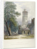 Church of St Giles without Cripplegate, City of London by John Wykeham Archer