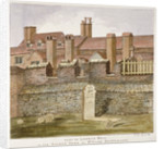 Remains of London Wall in the churchyard of St Giles without Cripplegate, City of London by