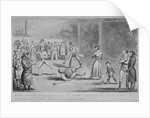 llustration of a scene at the Fleet Prison, from Pierce Egan's Life in London by Isaac Robert Cruikshank