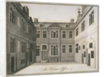 Inner courtyard of the Excise Office, Old Broad Street, City of London by