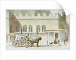 Shop fronts by St Dunstan-in-the-West, Fleet Street, City of London by James Findlay