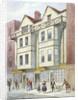 Blanchard's premises, Fleet Street, City of London by