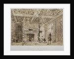 Interior of the Old House, Gravel Lane, City of London by Anonymous