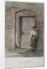 Door of an old mansion in Gravel Lane, City of London by John Wykeham Archer