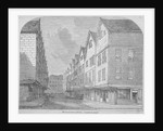 View of Great Winchester Street, City of London by Anonymous