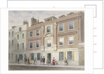 View of a mansion in Great Winchester Street, City of London by Thomas Hosmer Shepherd