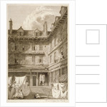 Green Arbour Court, Old Bailey, City of London by Samuel Rawle