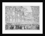 Procession of Queen Victoria to the State Ball in the Guildhall, City of London by John Abraham Mason