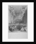 Installation of the Lord Mayor of London at the Guildhall, City of London by Harden Sidney Melville