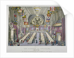 Banquet in the Guildhall in honour of Queen Victoria, City of London by Anonymous