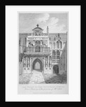Front view of the Guildhall, looking north, City of London by