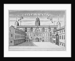 Front view of the Guildhall, looking north across Guildhall Yard, City of London by Anonymous