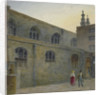 North side of Guildhall Chapel showing the entrance to Cutthroat Alley, City of London by