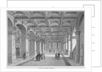 Interior view of the Guildhall Museum, City of London by Anonymous