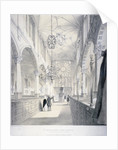Interior view of the east end of the Church of St Katherine Cree, City of London by Day & Haghe