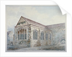 North-east view of Leadenhall Chapel, City of London by Anonymous