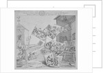 The battle of the pictures; a bidder's ticket for Hogarth's auction of 19 paintings by William Hogarth