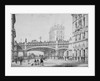 Farringdon Street and Holborn Viaduct, City of London by