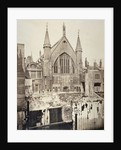 The east end of the Guildhall, from Basinghall Street, City of London by