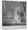 Interior of the Guildhall, City of London by