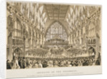 Interior of the Guildhall, City of London by Anonymous