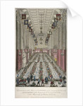 Dinner in the Guildhall, City of London by Anonymous