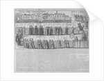 Roman Catholic procession, City of London by Anonymous
