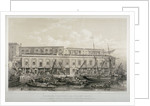 Brewer's Quay, Chester Quay and Galley Quay, Lower Thames Street, City of London by F Bedford