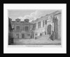 View of the courtyard, Leathersellers' Hall, City of London by James Peller Malcolm