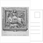 Ancient tablet, near Holborn Bridge, London by James Tingle