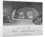 Gray's Inn Wine Establishment, High Holborn, London by William Johnstone White