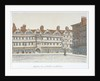 View of Staple Inn and the buildings of Middle Row in the centre of Holborn, London by Valentine Davis