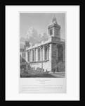 Church of St Mary Magdalen, Old Fish Street, City of London by Joseph Skelton