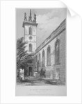 Church of St Mary Somerset, City of London by Joseph Skelton