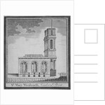 Church of St Mary Woolnoth from the north, City of London by
