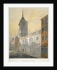 South-east view of the Church of St Margaret Lothbury, City of London by William Pearson
