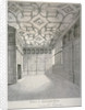 Interior view of the saloon in Sharrington House, Mark Lane, City of London by
