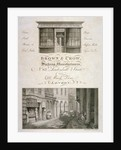 Shop front of Brown and Crow, sacking manufacturers, 32 Mark Lane, City of London by Samuel Rawle
