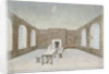 Interior of the condemned room in Newgate Prison, Old Bailey, City of London by Valentine Davis
