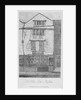 House in Moorfields, City of London by Anonymous